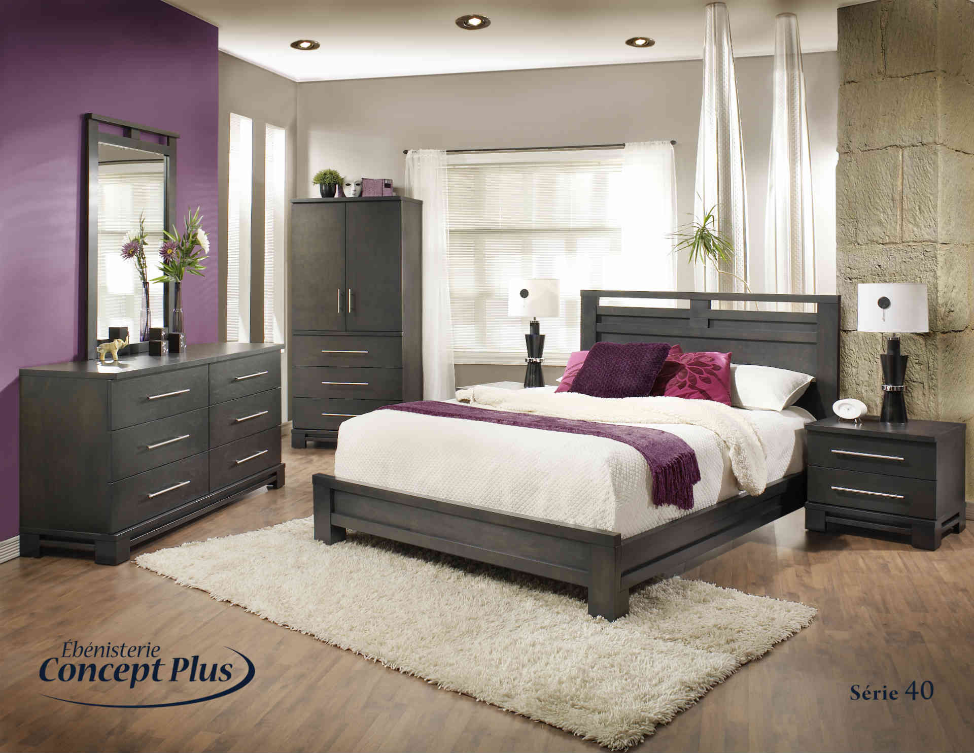beautiful set de chambre king size gallery awesome. Black Bedroom Furniture Sets. Home Design Ideas